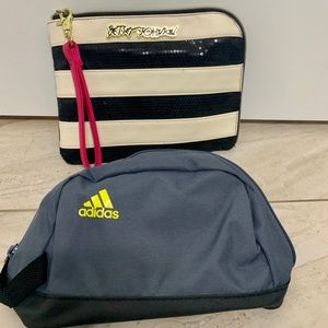 Betsey Johnson Wallet and Adidas Fanny Pack